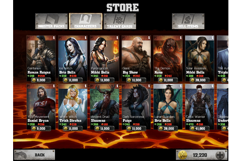 WWE Immortals Character List – Engaged Family Gaming