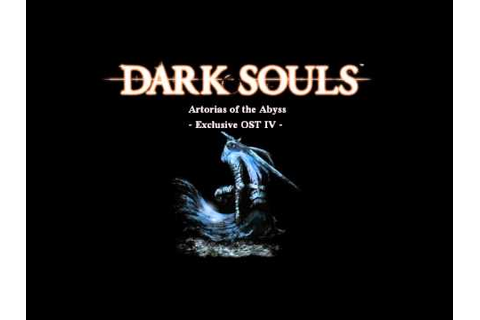 Dark Souls: Artorias of the Abyss - YouTube