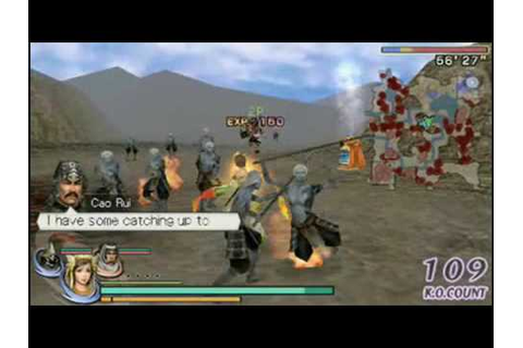 WARRIORS OROCHI 2 PSP EXCLUSIVE GAMEPLAY - YouTube