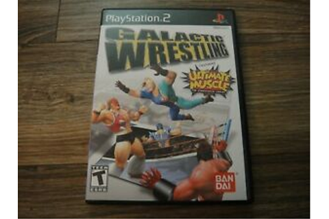 Galactic Wrestling PS2 Playstation 2 Game Complete with ...