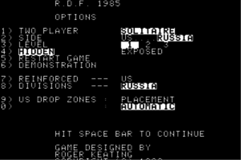 Download RDF 1985 (Apple II) - My Abandonware