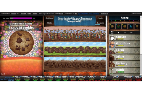 Cookie Clicker 2 | Clicker Games