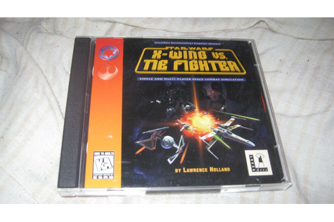 STAR WARS X WING VS TIE FIGHTER PC CD ROM VIDEO GAME | eBay