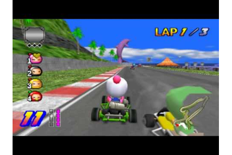 Bomberman Kart (PS2 Gameplay) - YouTube
