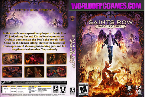 Saints Row Gat Out Of Hell Free Download Repack