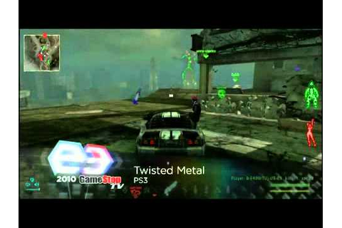 Twisted Metal - Only For PLAYSTATION 3 Game trailer comes ...