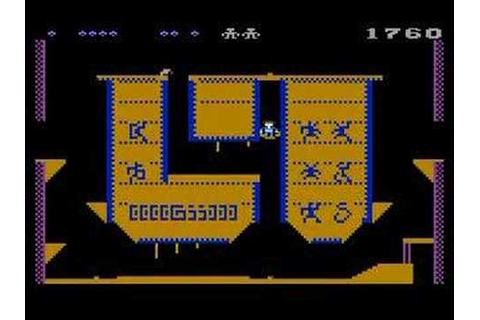 Atari 800 Pharaoh's Curse (Synapse) - YouTube
