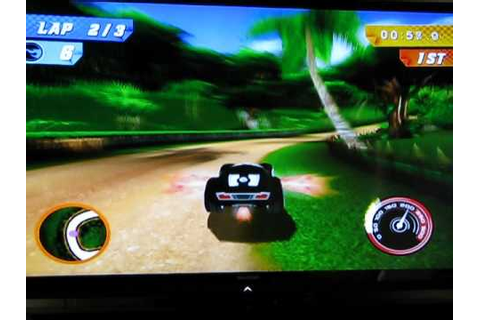 Hot Wheels Track Attack Wii game - YouTube