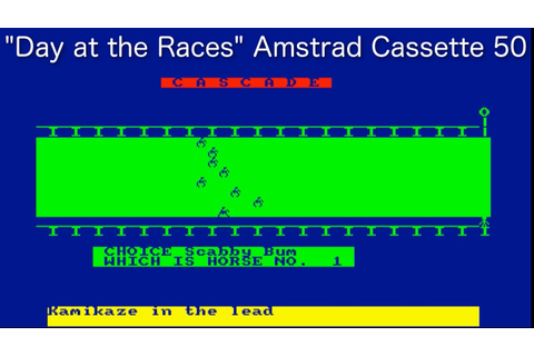 Day at the Races (Amstrad Cassette 50 Game 41) - YouTube