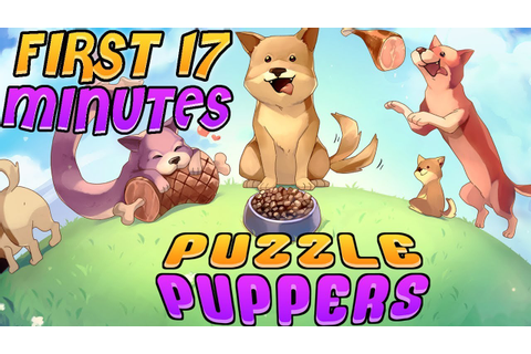 Puzzle Puppers ~ First 17 Minutes ~ Nintendo Switch ...