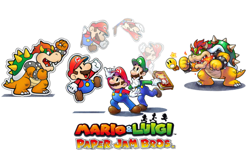 Mario & Luigi: Paper Jam Bros. for Nintendo 3DS (cart only ...