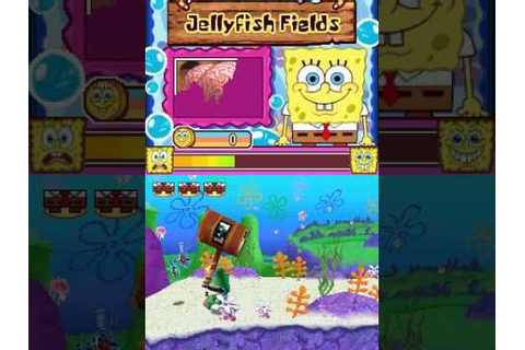 SpongeBob's Truth or Square (NDS) - Part 1 - YouTube