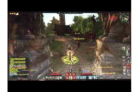 age of conan rise of the godslayer gameplay - YouTube