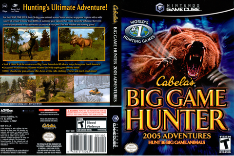 GG5E52 - Cabela's Big Game Hunter 2005