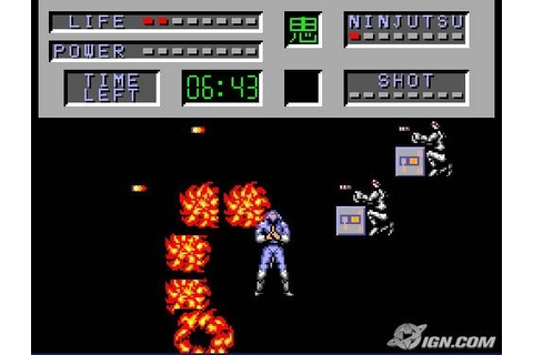 The Cyber Shinobi (Shinobi Part 2) Screenshots, Pictures ...