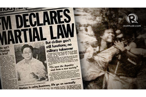 Help youth understand why 'never again' to martial law ...