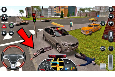 Taxi Sim 2016 #15 - DANGEROUS or FUNNY RIDE!? 😂 Taxi Game ...