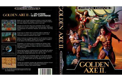 Golden Axe II (1991) - Sega Megadrive/Genesis - (Full Game ...