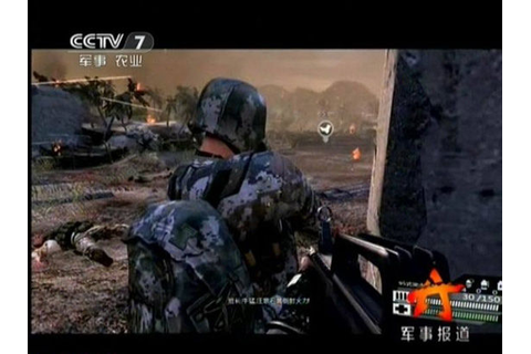Chinese Army's New Video Game Aims to Turn Geeks into GI's