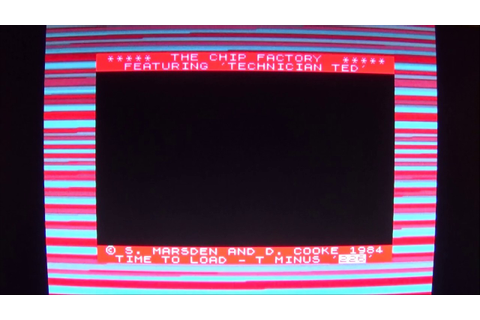 Technician Ted ZX Spectrum Loading Sequence - YouTube