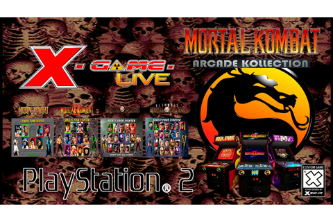 MORTAL KOMBAT ARCADE KOLLECTION - PLAYSTATION 2 ...