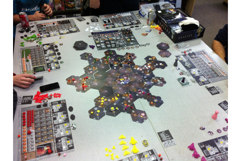 Grusome's Gaming Pit: Session Report - Eclipse: Rise of ...