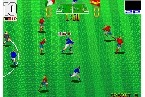 Football Champ (1990) by Taito Arcade game