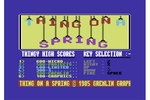 Download Thing on a Spring - My Abandonware