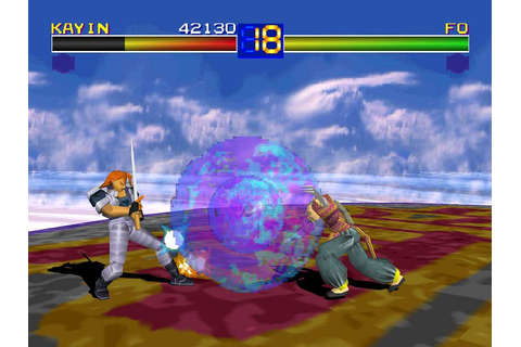 Fo Fai from the Battle Arena Toshinden Series