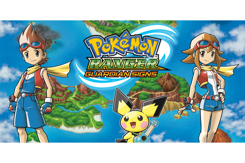 Pokémon Ranger: Guardian Signs | Nintendo DS | Games ...