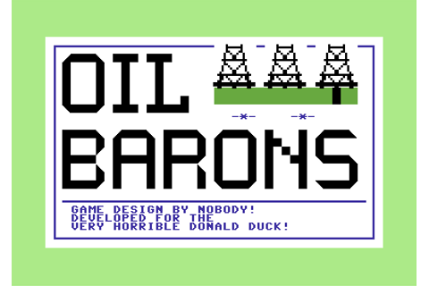 Download Oil Barons (Strategy) - My Abandonware