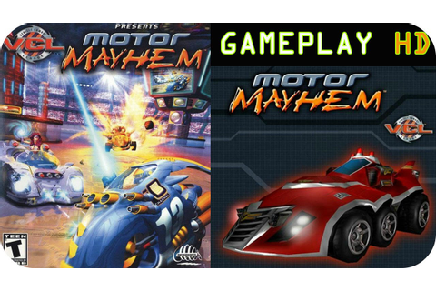 Motor Mayhem Gameplay & Review PS2 HD - YouTube