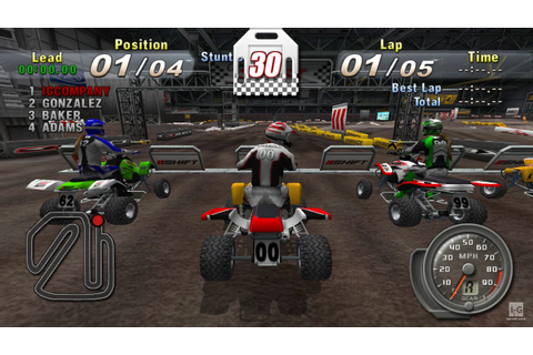 ATV Offroad Fury Blazin' Trails PSP Gameplay HD - YouTube