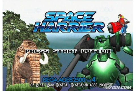 Space Harrier Screenshots, Pictures, Wallpapers ...