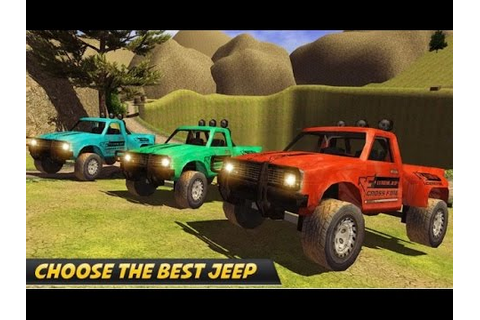 4x4 Offroad Jeep Driving-Free - Android Racing Game Video ...