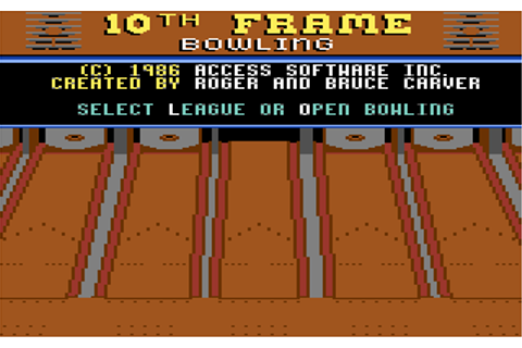 Download 10th Frame - My Abandonware