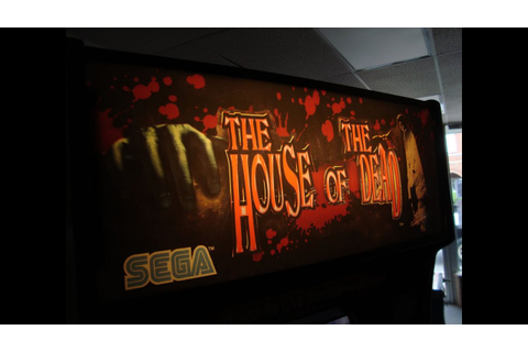 Sega's Classic 1996 The House Of The Dead Arcade Game ...