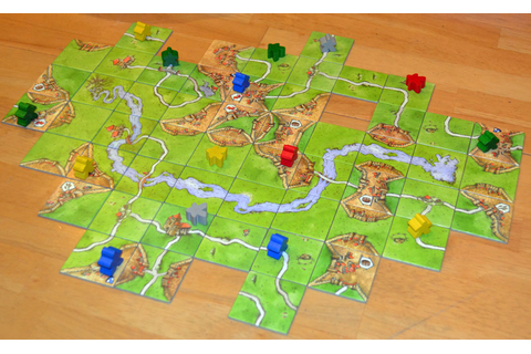 Carcassonne: A Modern Board Game for Adults & Teens ...