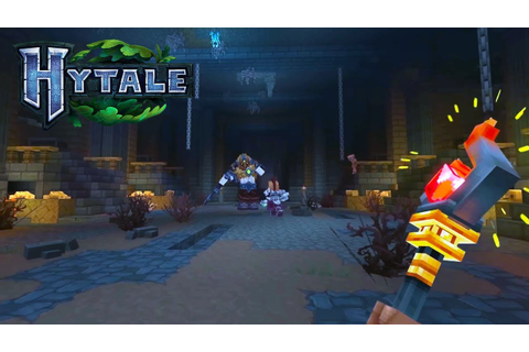 HYTALE Gameplay - First Look Hytale Trailer + Features ...