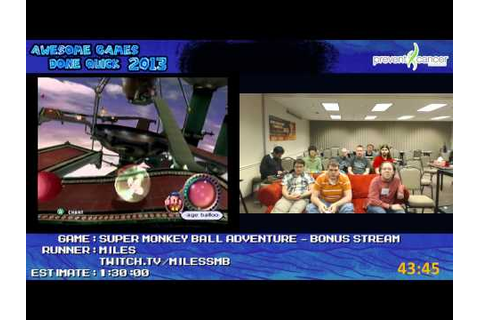 Awesome Games Done Quick 2013 Bonus Stream Part 8 - Super ...