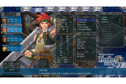 The Legend of Heroes: Trails in the Sky SC Review (PC ...
