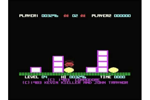 Jack Attack (Commodore Plus/4 game) - YouTube