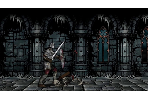 Side-Scrolling Dungeon Videogame Animation - YouTube