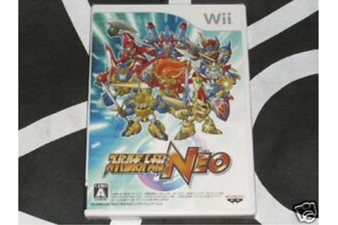 Nintendo Wii Import New Game Super Robot Wars Neo Taisen ...
