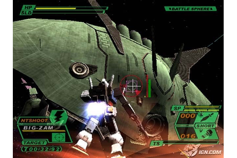 Mobile Suit Gundam: Encounters in Space Screenshots ...