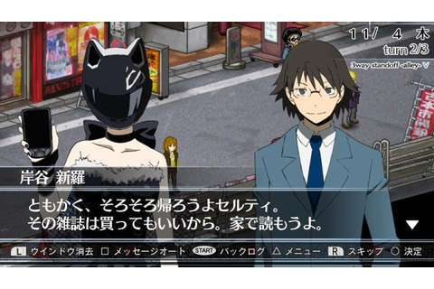 "Crunchyroll - ""Durarara!! 3way standoff -alley- V"" Hyped ..."