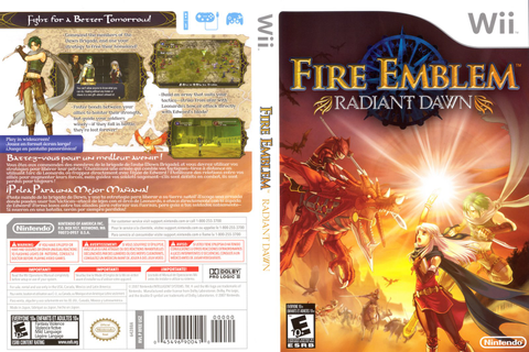 Games Covers: Fire Emblem Radiant Dawn 3 - Wii
