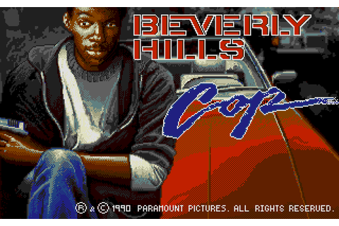 Beverly Hills Cop (1990) by Tynesoft Atari ST game