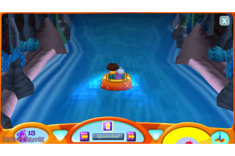 DORA THE EXPLORER Dora's 3D Rapido River Rafting Race New ...