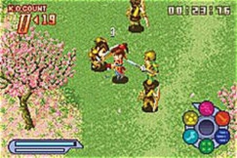 Dynasty Warriors Advance - Game Boy Advance Countdown